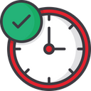 Filing Time Money Time Tax Reminder Icon