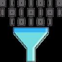 Filter Data Digital Icon