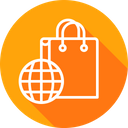 Finance Bag Cart Icon