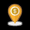 Location Finance Navigation Icon