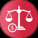Balance Economy Equality Icon