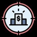 Finance Target Target Financial Target Icon