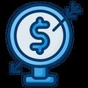 Finance Target Icon