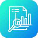 Financial Analytics Finance Icon