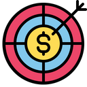 Financial goal Icon