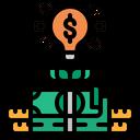 Financial Innovation Business Innovation Financial Idea Icon