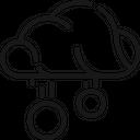 Cloud Money Data Icon