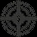 Goal Investment Money Icon
