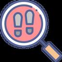 Find footprints Icon