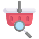 Online Shopping Find Product Cart Icon