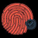 Finger Verification Thumb Icon