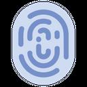 Finger Fingerprint Biometry Icon