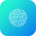 Fingerprint Biometric Forensic Icon