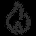 Fire Flame Emoji Icon