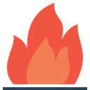 Fire Flame Energy Icon