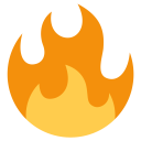 Fire Flame Tool Icon