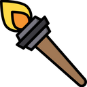 Fire Torch Icon