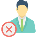 Employment Termination Fired Employee Job Elimination Icon