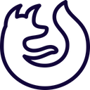 Firefox Technology Logo Social Media Logo Icon