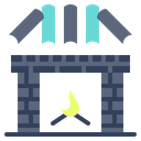Fireplace Hearth Fire Icon