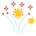 New Year Fireworks Icon