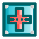 Red Cross Cross First Aid Icon