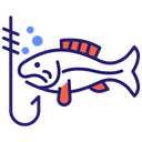Fishing Fish Camp Icon