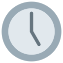 Five Oclock Watch Icon
