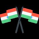 Flag National India Icon
