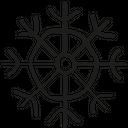 Flake Snow Winter Icon
