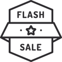 Flash Sale Icon
