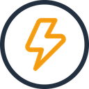 Flash Sale Label Offer Icon