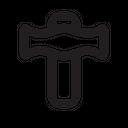 Flat Hammer Icon