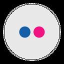 Flickr Social Media Logo Icon