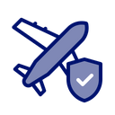 Flight insurance Icon