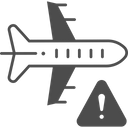 Flight Warning Icon