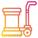 Floor Scrubber Cleaner Cleaning Icon
