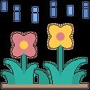 Flower Drizzle Garden Icon