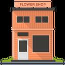 Flower Shop Flower Store Floral Market Icon