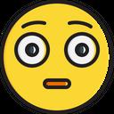 Flushed face Icon