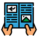 Flyer Paper Icon
