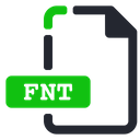 Fnt File Font Icon