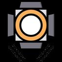 Focus Light Led Icon