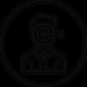 Focus Target Employee Icon