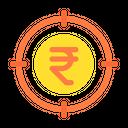 Focus On Money Icon