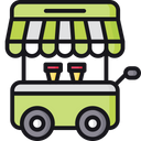 Food Cart Food Stand Food Truck Icon