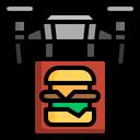 Food Delivery Burger Delivery Burger Icon