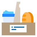 Delivery Restaurant Package Icon