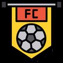 Football Club Flag Icon