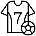 Football Jersey Uniform Port Icon